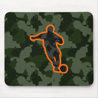 Camo Soccer Mouse Pad