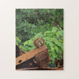 Camo Squirrel Jigsaw Puzzle