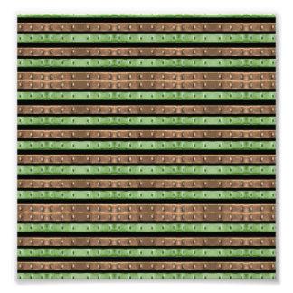 Camo Stripes Print