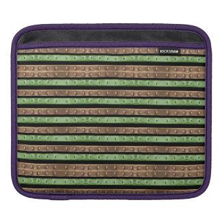 Camo Stripes Print iPad Sleeve