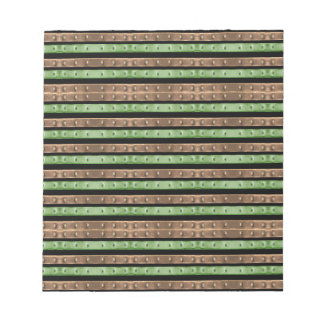 Camo Stripes Print Notepad