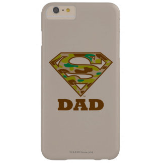 Camo Super Dad Barely There iPhone 6 Plus Case