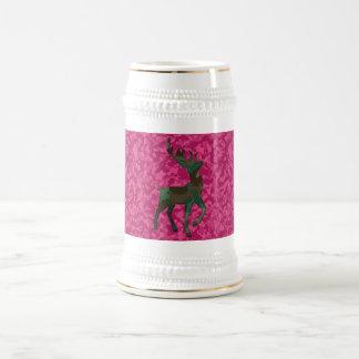 Camo with Deer Beer Stein