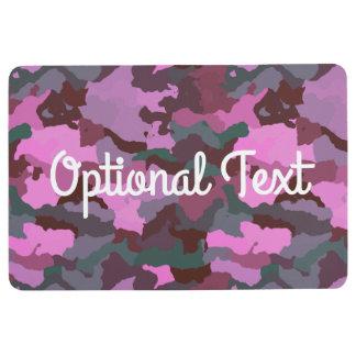 Camo with Pink Floor Mat