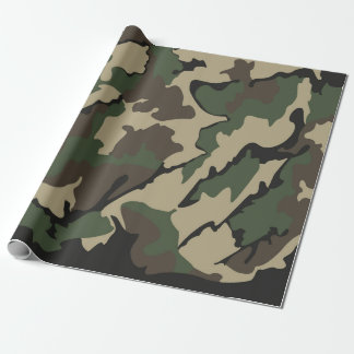 """Camo Wrapping Paper 30""""x6'"""