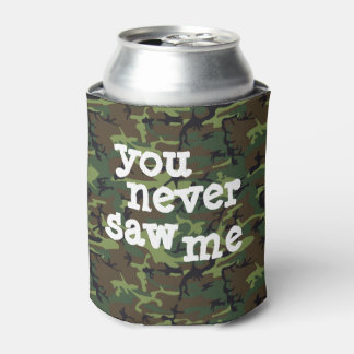 Camo your beer! can cooler