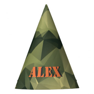 Camo your Party! Party Hat