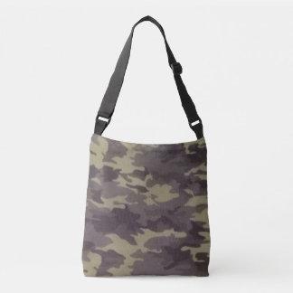 Camoflage Print Tote Cross Over Body Bag