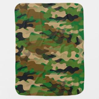 Camoflage-Style Baby Blanket