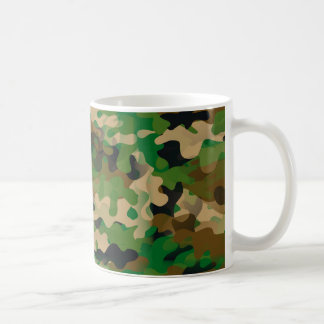 Camoflage-Style Coffee Mug