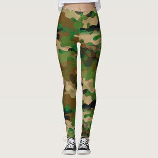 Camoflage-Style Leggings