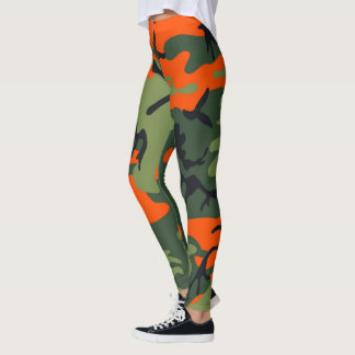 Camoflauged Paintballer Leggings
