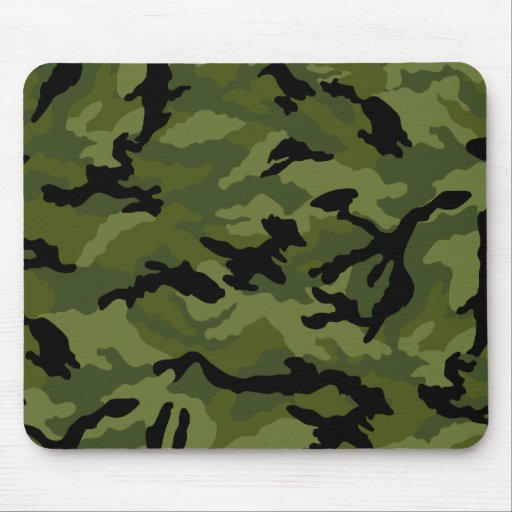 Camoflouge mouse pad