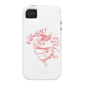 Camogie Gypsy Bohemian Ireland Irish Hurling Vibe iPhone 4 Cases