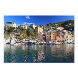 Camogli from the sea photograph