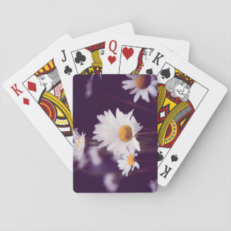 Camomile dreams playing cards