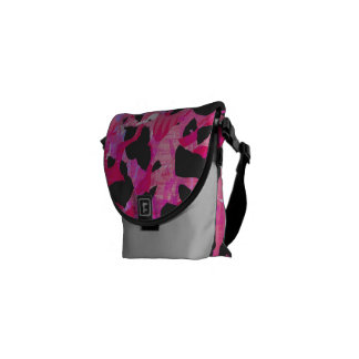 Camouflage #2 - Pink Bag Messenger Bags