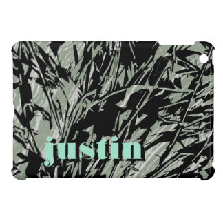Camouflage Abstract Silhouettes iPad Mini Cases