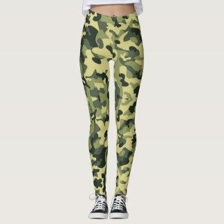 Camouflage Army - power Yoga put-went Leggings