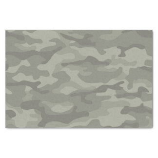 Camouflage Army Print Tissue Paper