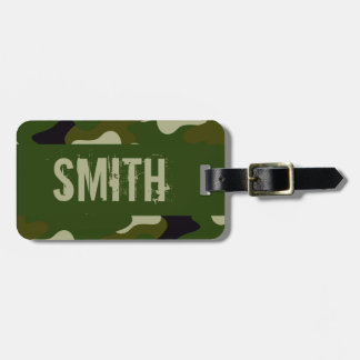 Camouflage Bag Tag