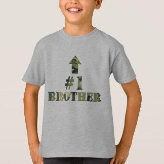 Camouflage Big Brother shirt / I'm the #1 bro