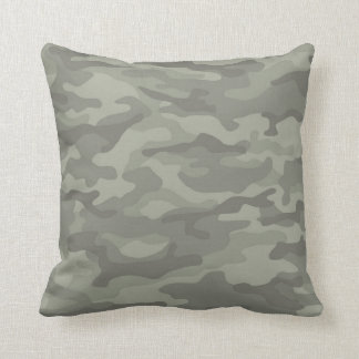 Camouflage Camo Army Print Pillow