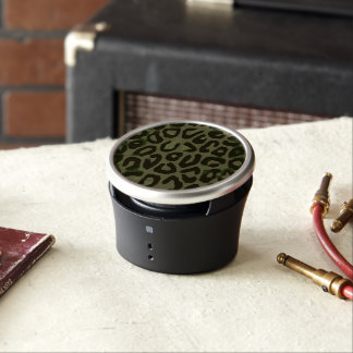 Camouflage Cheetah Abstract Bluetooth Speaker