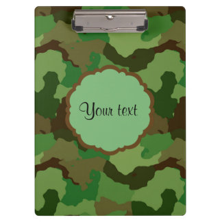 Camouflage Clipboard