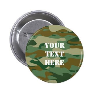 Camouflage color pattern design buttons | Camo