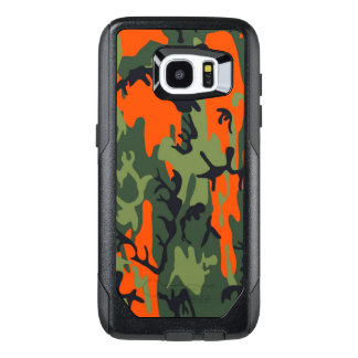 Camouflage Como Army Military Print textures OtterBox Samsung Galaxy S7 Edge Case