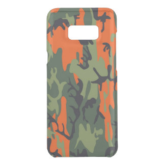 Camouflage Como Army Military Print textures Uncommon Samsung Galaxy S8 Plus Case