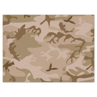 Camouflage Desert Sand Tissue Paper
