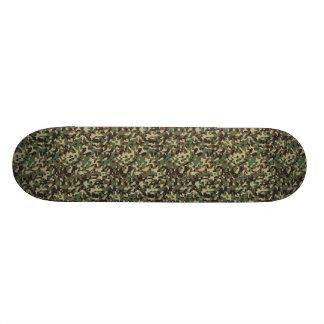 Camouflage Design 20.6 Cm Skateboard Deck