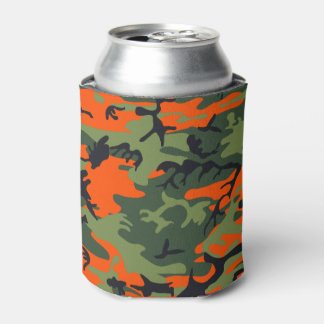 Camouflage design can cooler
