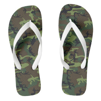Camouflage Design Thongs