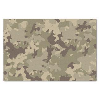 Camouflage design tissue paper