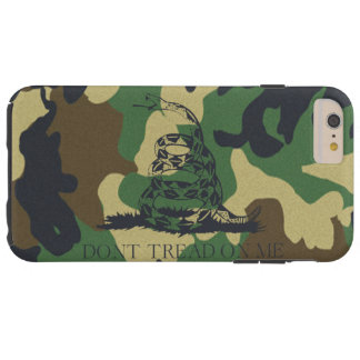 Camouflage Don't Tread On Me Gadsen Flag Tough iPhone 6 Plus Case