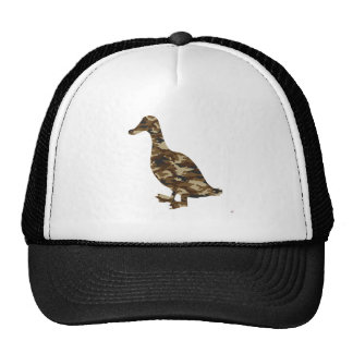 Camouflage Duck Silhouette Hats
