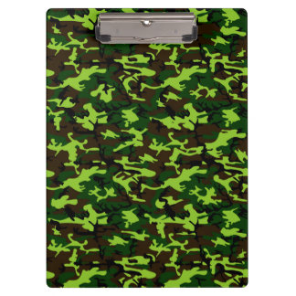 Camouflage Elite (army jungle green) ~ Clipboards