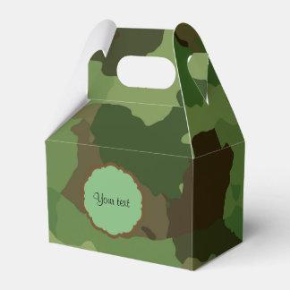 Camouflage Favour Box