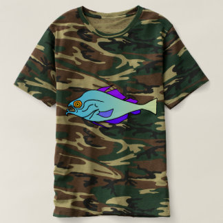 Camouflage Fish T-shirt