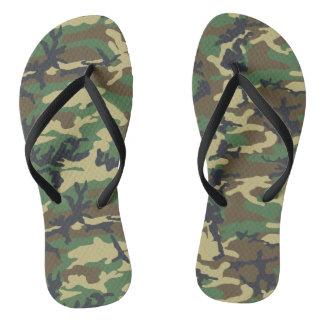 Camouflage Flip Flops for Women