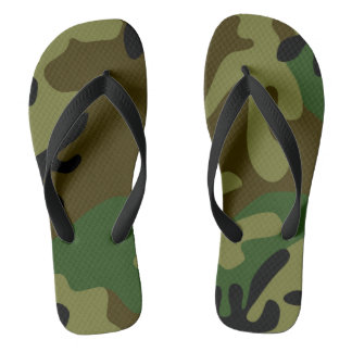 Camouflage Footwear Thongs