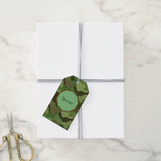 Camouflage Gift Tags