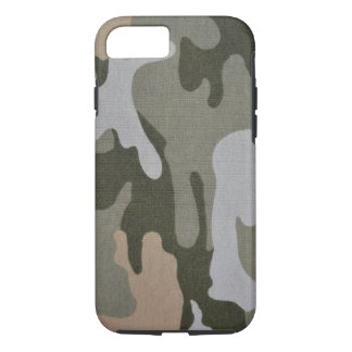 Camouflage Green and Tan Military iPhone 8/7 Case