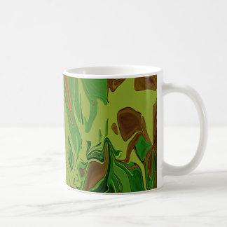 Camouflage Green Art Mug by HaveUHurd