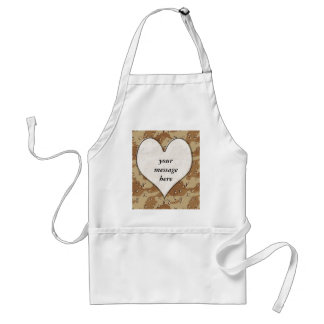 ♥ Camouflage Heart ♥ Adult Apron