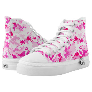 Camouflage In Pink♥ High Tops