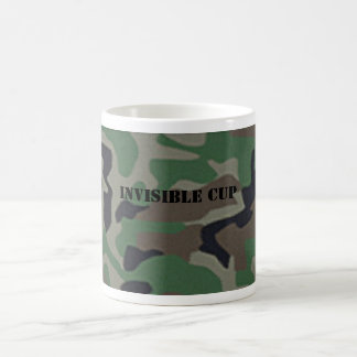 Camouflage Invisible Coffee Cup Mug